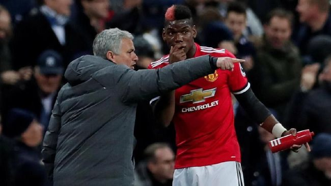 Jose Mourinho Bingung dengan Performa Paul Pogba