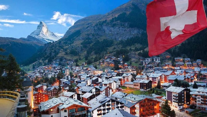 Bukan Singapura, Swiss Jadi Negara Paling Pas Bagi Ekspatriat