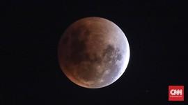 Deretan Negara yang Bisa Nikmati Gerhana Bulan Total Terlama