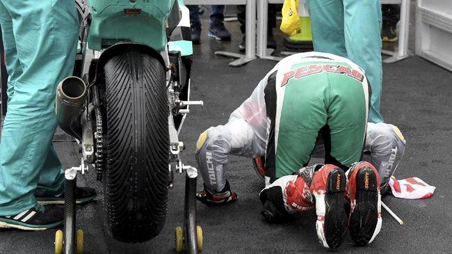 Hafizh Syahrin Pebalap Muslim Pertama di MotoGP