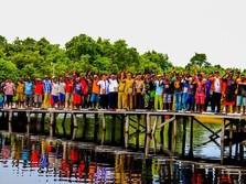 Sulitnya Memasok Listrik ke Asmat, Papua