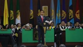 BEM UI Ungkap Alasan Beri 'Kartu Kuning' untuk Jokowi