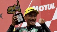 Hafizh Syahrin: MotoGP Lebih Mudah dari Moto2