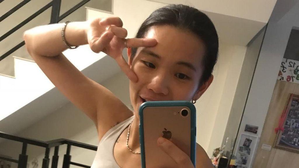 Foto: Pebulutangkis Taiwan Ini Imut Namun Punya Perut Sixpack