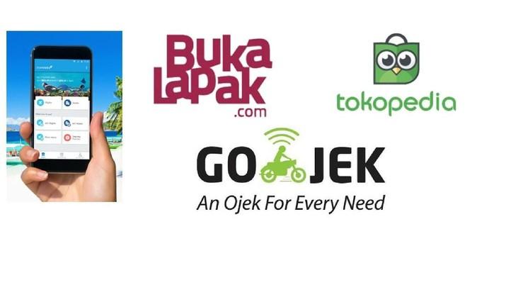 Investor Asing di Belakang Gojek, Traveloka, dan Tokopedia