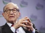 Greenspan: Bubble Pasar Obligasi AS Mulai Tak Bisa Dibendung