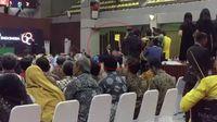 Ketua BEM UI Zaadit Taqwa baru-baru ini disorot setelah jadi 'pemberi kartu kuning' ke presiden Jokowi saat Dies Natalis ke-68 Universitas Indonesia. (Foto: detiktv)