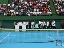 Jokowi Resmikan Lapangan Tenis Gelora Bung Karno