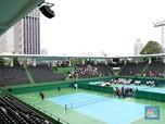 Melihat Stadion Tenis yang Baru Diresmikan Jokowi
