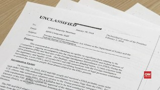 VIDEO: Gedung Putih Rilis Memo Tudingan pada FBI