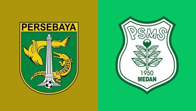 Live Persebaya Surabaya Psms Medan Gambar Logo