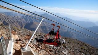 Arab Punya Kabel Seluncur Terpanjang di Dunia