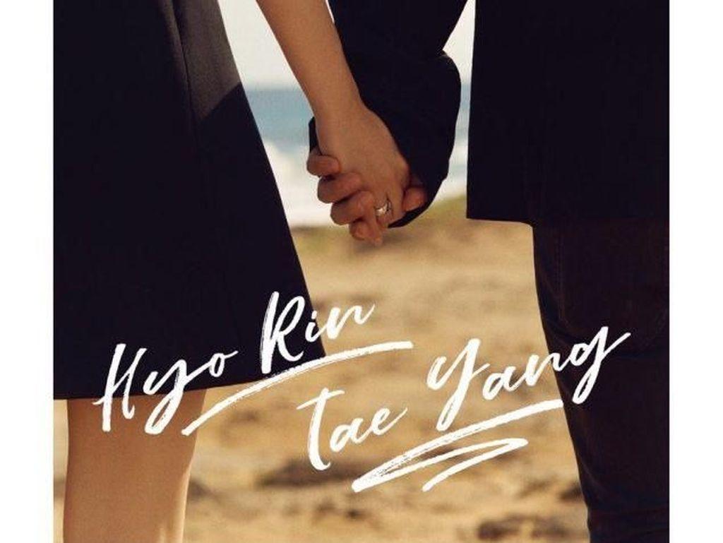 Romantisnya Foto-Foto Prewedding Taeyang Big Bang dan Min Hyo Rin