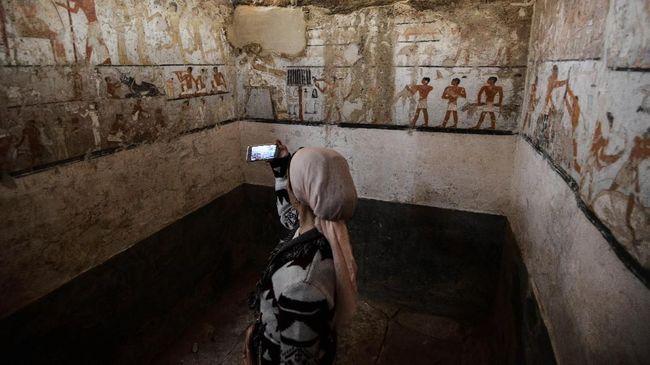 Arkeolog Mesir Temukan Makam Kuno Berusia 4.400 Tahun