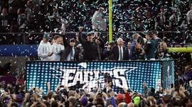 Tom Brady Fumble, Eagles Juara Super Bowl LII