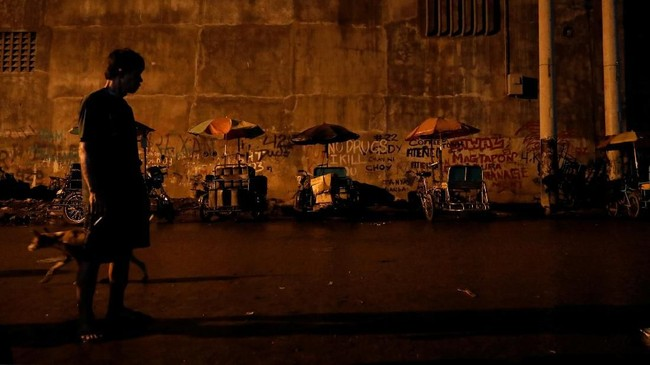 Menurut Duterte, narkotik jenis methampetamine itu bisa merusak satu generasi warga Filipina. (REUTERS/Dondi Tawatao)
