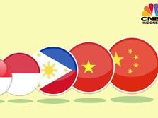 Pertumbuhan Ekonomi Indonesia Vs Negara Asia Lainnya
