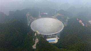 Lagi, China Bangun Teleskop Raksasa Pemburu Alien Baru