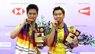 Kevin/Marcus Raih Sembilan Gelar Juara di 2018
