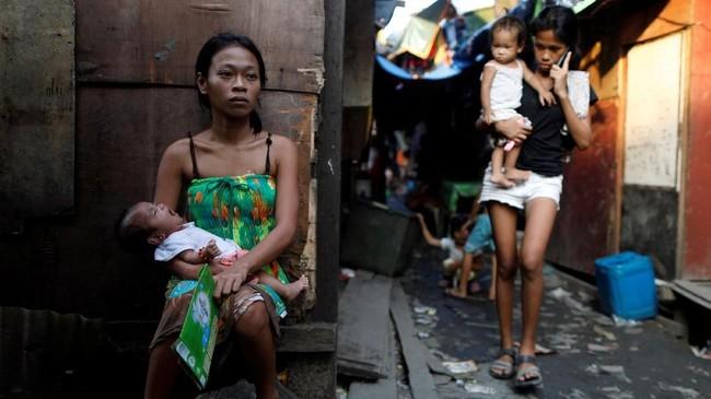 FOTO: Momok Perang Narkotik Duterte di Manila