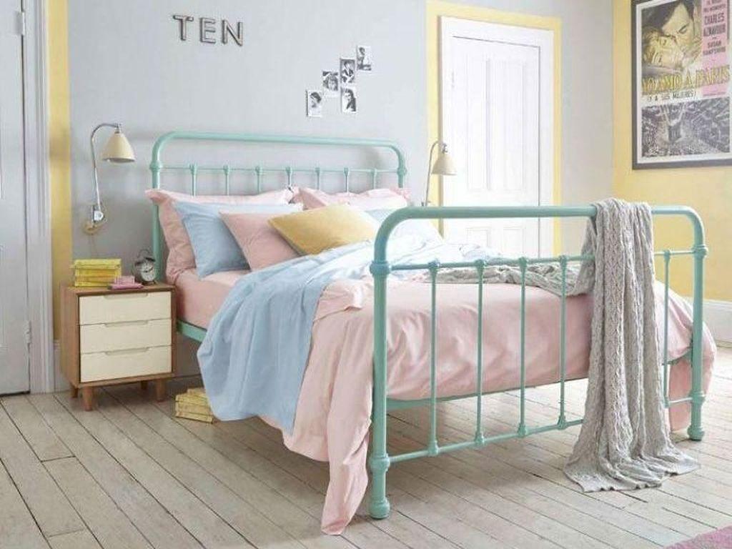 Foto: 10 Gaya Menata Kamar Tidur dengan Warna-warna Pastel