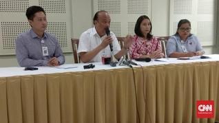 Korban Tewas Longsor Bandara Melemah Saat Tiba di RS Mayapada