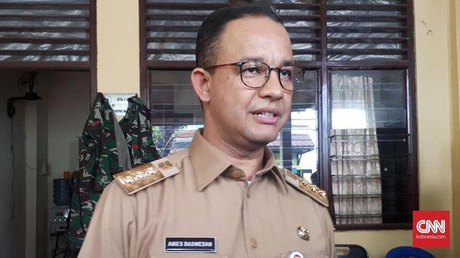 Anies Dikritik Tak Acuhkan Mundurnya Dirut PD Dharma Jaya