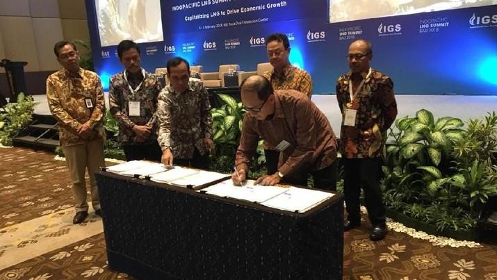 PT Medco E&P Indonesia (Medco E&P) meneken perjanjian jual beli gas untuk memasok listrik ke PLN hingga 2028