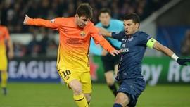Thiago Silva:  Lebih Sulit Menjaga Messi Dibanding Ronaldo