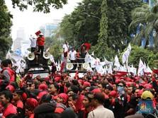 Takut Kena Denda, Pengusaha Cuekin Aksi Mogok Massal Buruh