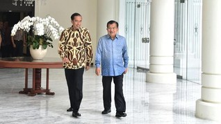 Jokowi Ulang Tahun, JK Beri Hadiah Anggrek