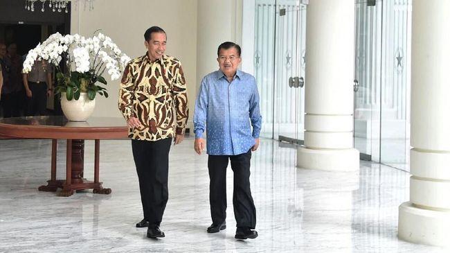 Jusuf Kalla Dukung Jokowi Maju Pilpres 2019