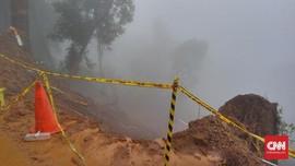 Sempat Terputus Longsor, Jalur Bandung-Cianjur Terhubung Lagi