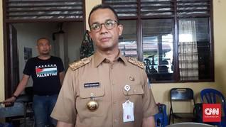 Anies Dilaporkan ke Polisi Soal Penutupan Jatibaru