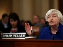 Yellen Sudah Ingatkan Valuasi Pasar Saham Sudah Tinggi