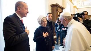 Erdogan-Paus Fransiskus Tolak Keputusan Trump soal Yerusalem
