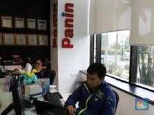 Lepas Verena Multi Finance, Saham Bank Panin Naik 5,88%