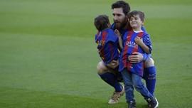 Viral Video Anak-anak Messi Joget Lucu