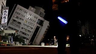 Gempa Berkedalaman 1 Kilometer Guncang Taiwan