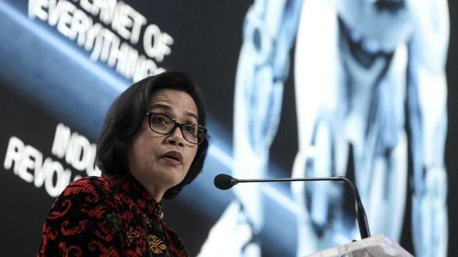 Jokowi 'Tepuk Dada' Sri Mulyani jadi Menteri Terbaik di Dunia