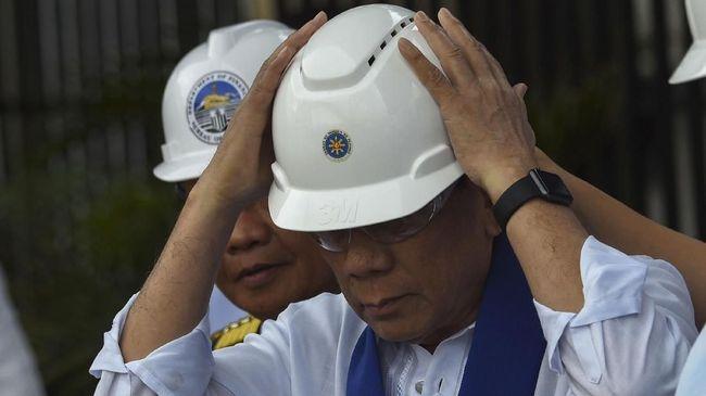 Korban Capai 59 Orang, Duterte Kunjungi Lokasi Topan Mangkhut