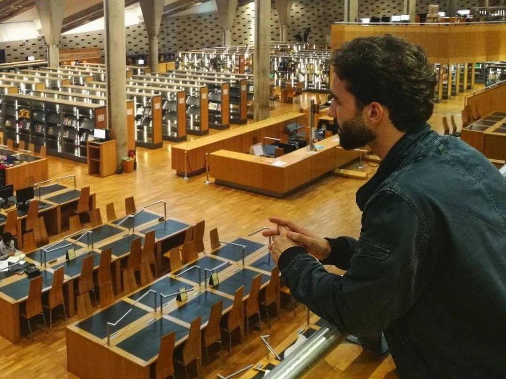 Pria Ganteng Hafidz Quran Asal Spanyol Ini Lagi Cari Jodoh, Siapa Berminat?