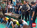Ditengarai Sarang Narkotik, Kampung Boncos Rutin Digerebek