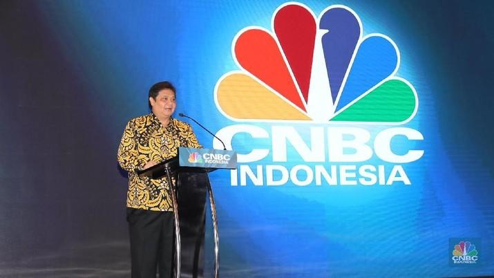Menteri Perindustrian Airlangga Hartarto mengatakan pertumbuhan industri nasional dipengaruhi 4 sektor.
