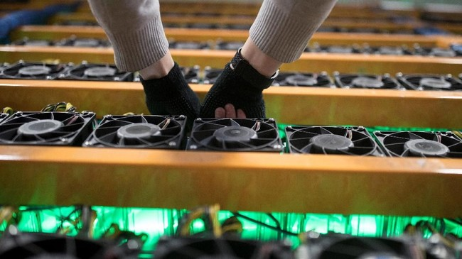 <p>Bitfarms sejauh ini sudah memiliki empat titik penambangan mata uang kripto di Quebec dan tengah membuka tiga fasilitas lainnya. (dok.REUTERS/Christinne Muschi)</p>