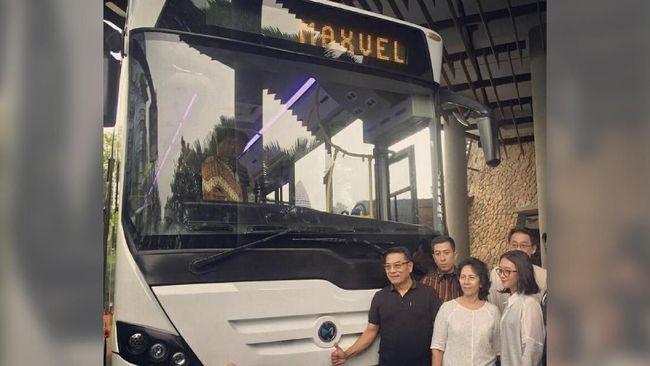 Sudah Diuji Coba, Bus Milik Moeldoko Dinyatakan Sempurna