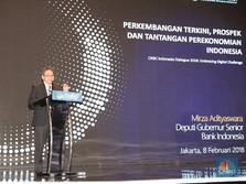 BI : Ekonomi RI Triwulan I-2018 Diproyeksi Tumbuh 5,1%