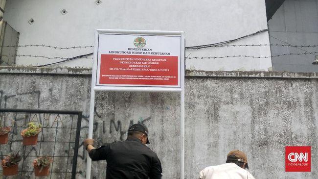 Pabrik Tekstil Bandung Disegel karena Cemari Sungai Citarum