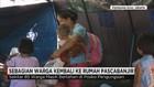 Sebagian Warga Kembali ke Rumah Pasca Banjir
