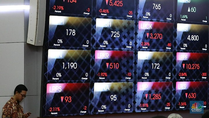 Saham-saham perbankan Tanah Air di Bursa Efek Indonesia (BEI) dilepas asing.